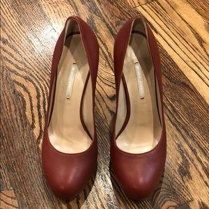 Lightly worn Nicholas Kirkwood chunky heels